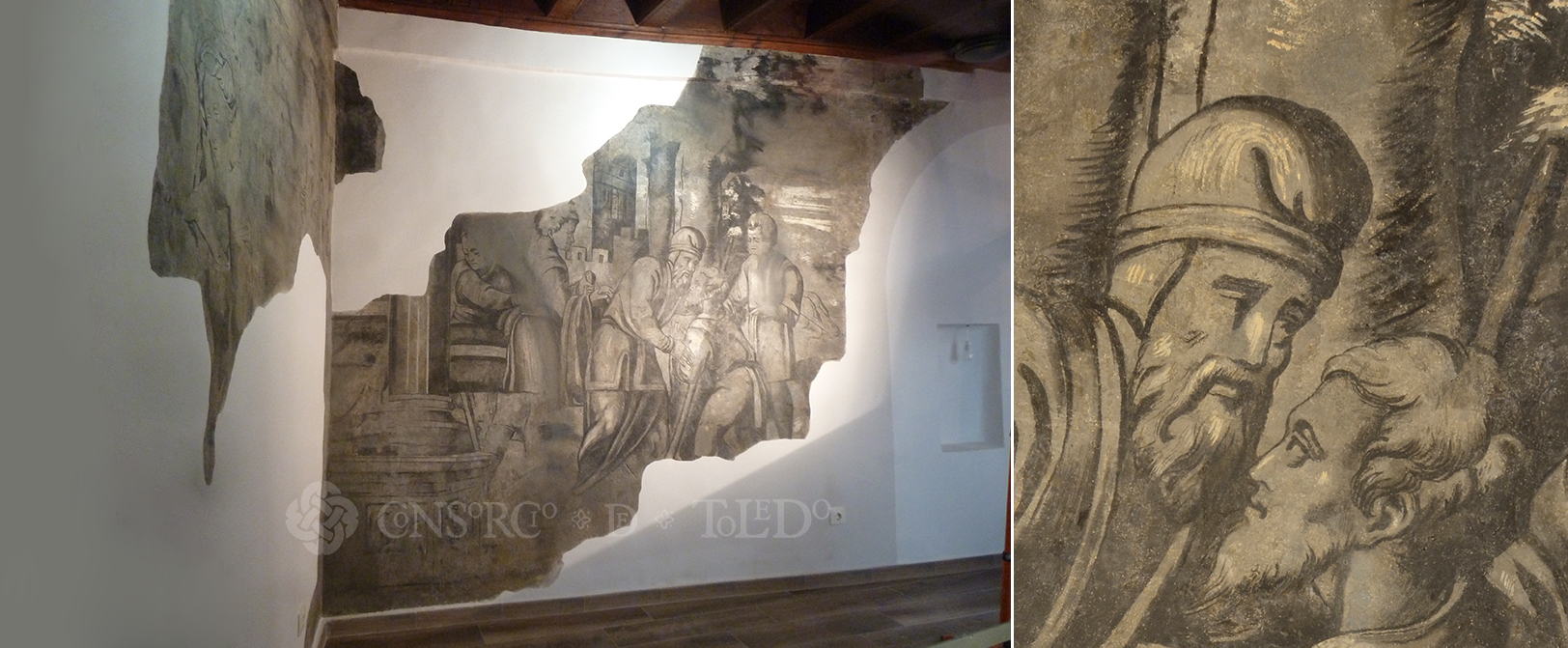 Murales de la Plaza de Abdón. Toledo