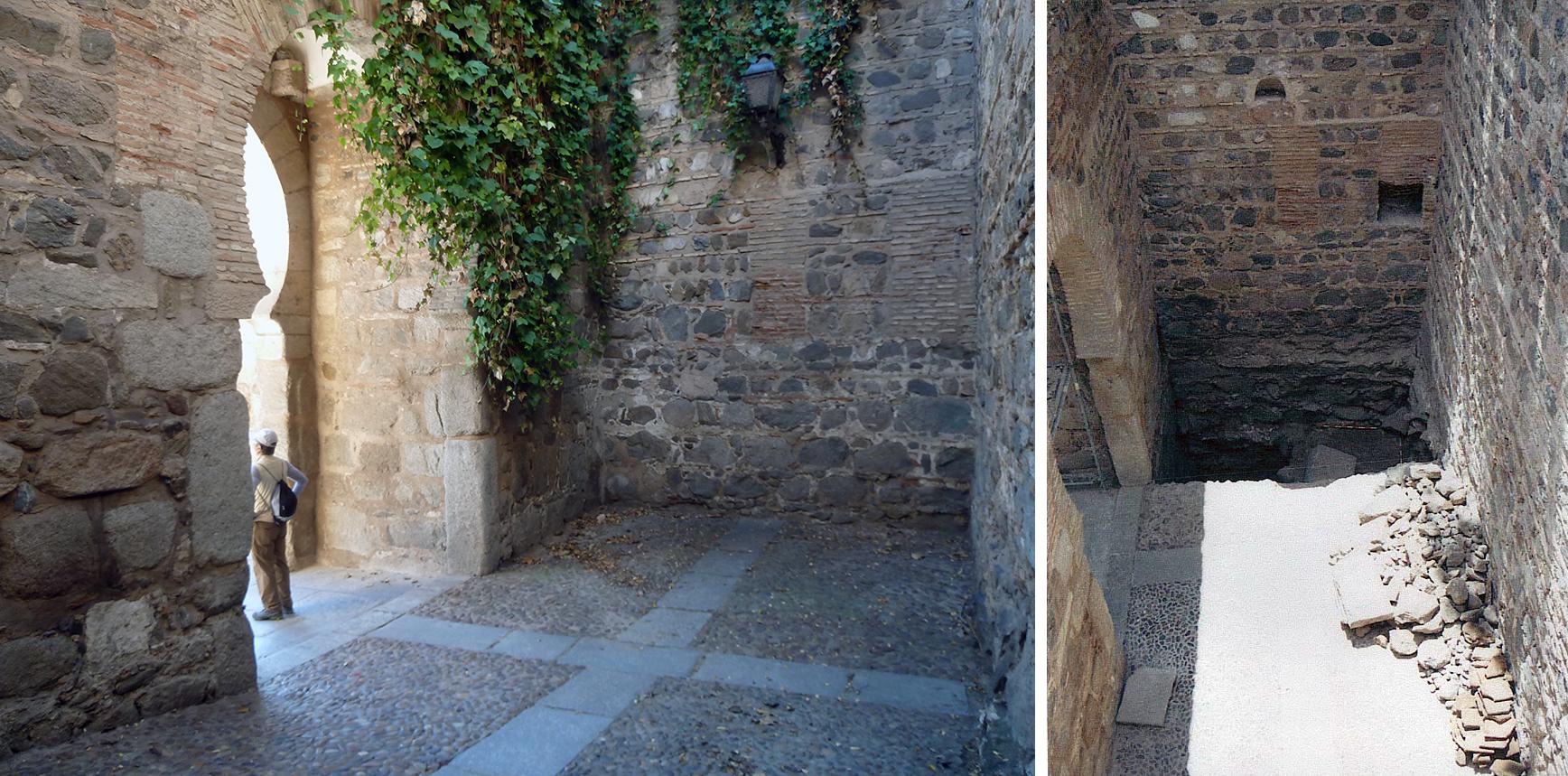Cata arqueológica Puerta de Alcántara. Toledo