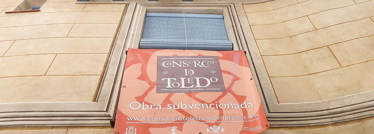 Fachada rehabilitada en Calle Ave María nº 9, Toledo