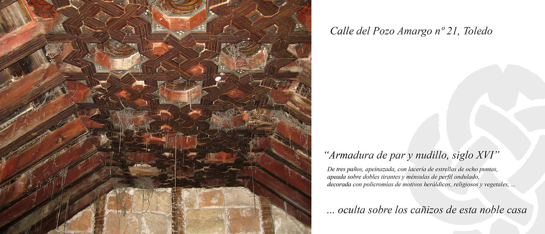 La artesa de los Mesa. Calle Pozo Amargo nº 21, Toledo