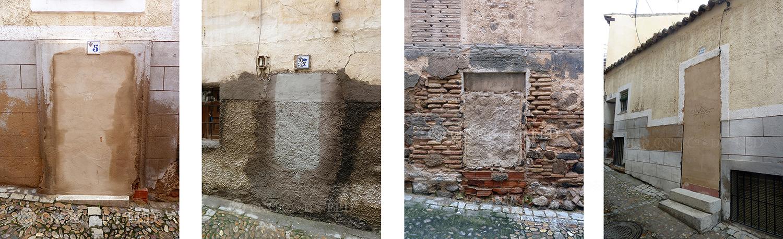 Mil puertas tabicadas (II). Calle del Sacramento, Toledo