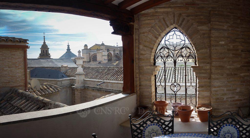 Terraza en Calle Hombre de Palo nº 3, Toledo.