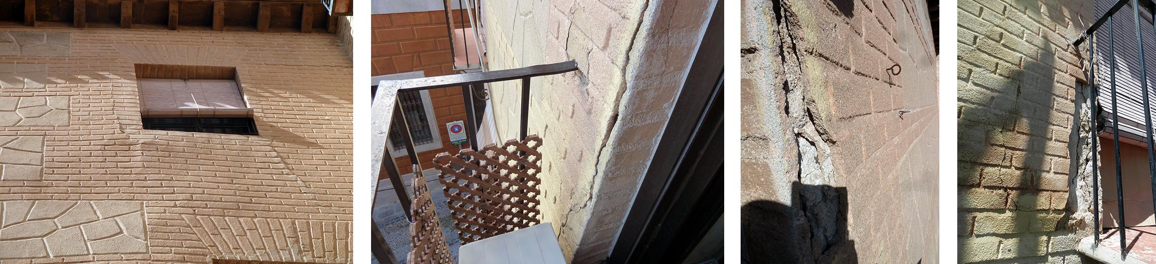 Punta paleta. Detalles fachada Instituto 23, Toledo