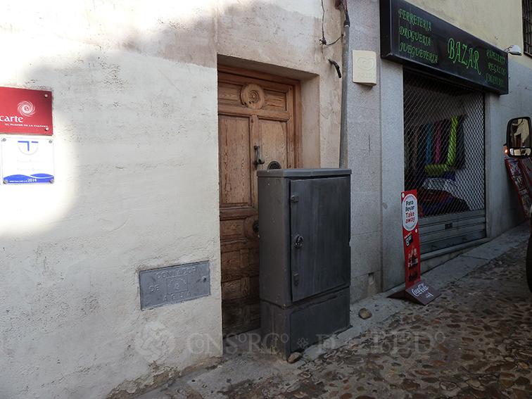 Mil puertas tabicadas (II). Calle Taller del Moro