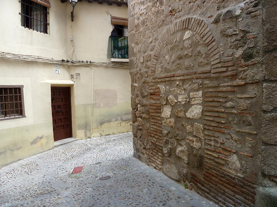 Mil puertas tabicadas (II). Iglesia de San Andrés, Toledo