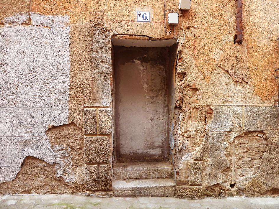 Mil puertas tabicadas (II). Calle San Torcuato, Toledo