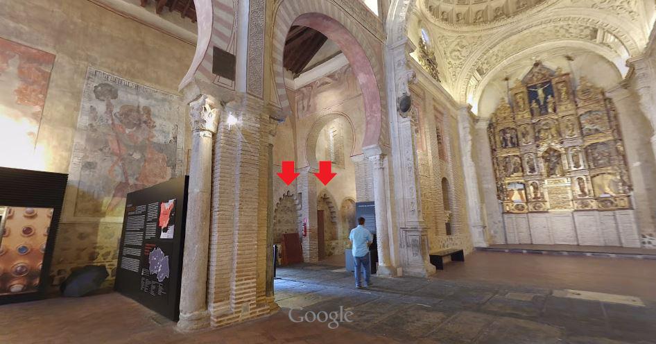 Interior Iglesia de San Román, Toledo