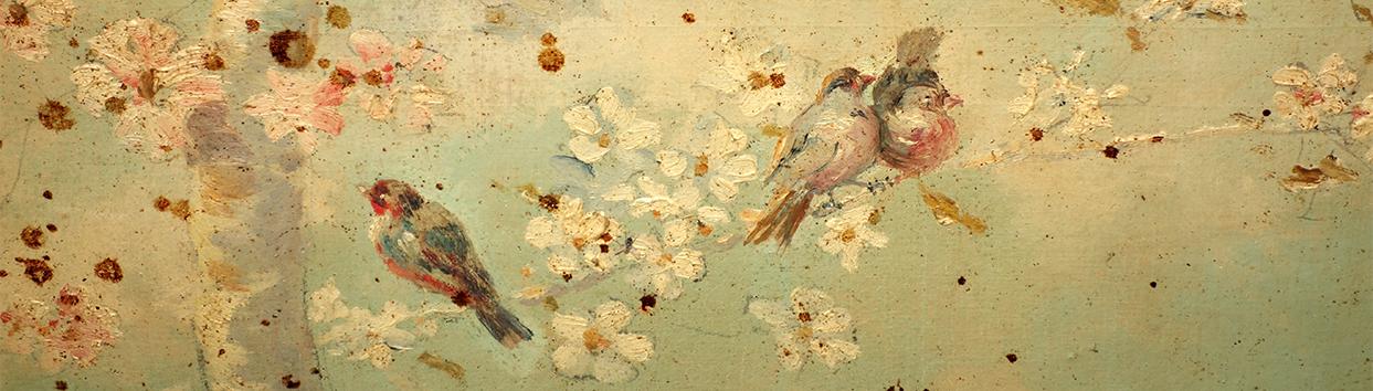 Detalle de la pintura del techo. José Vera, año 1897. Fotografía: Jose María Gutiérrez Arias, Sección Vivienda, Consorcio de la Ciudad de Toledo. Año 2017