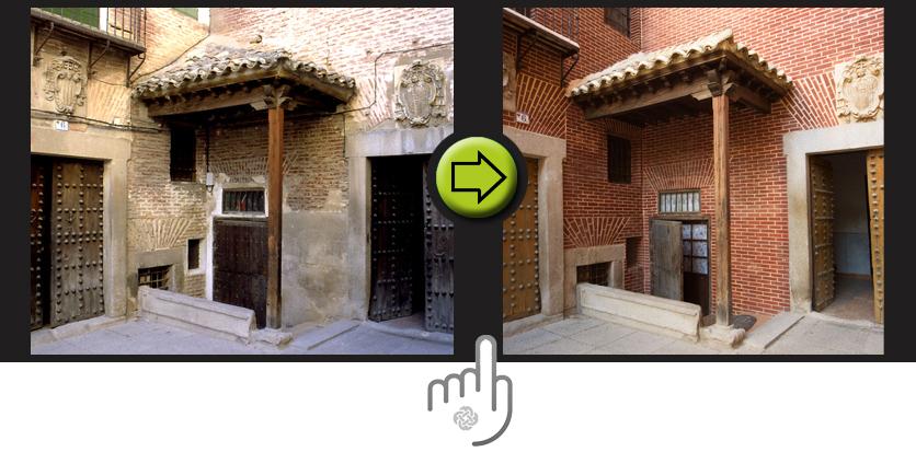Antes y después en la rehabilitación de los edificios