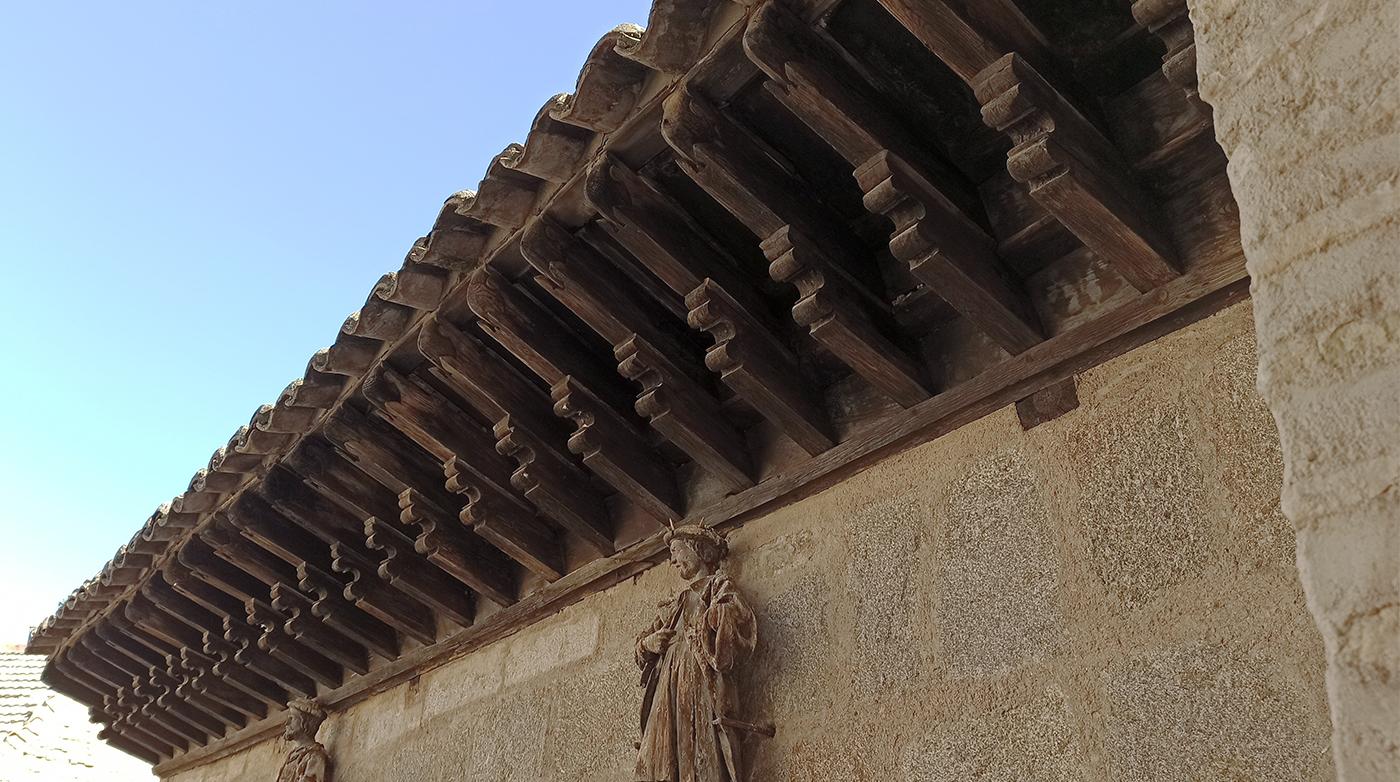 Tejaroz de la Posada de la Hermandad, Toledo